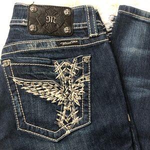Miss Me Size 31 Dark Denim Skinny Jeans